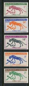 Dahomey #J29-33 Mint