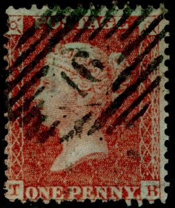 SG29, 1d red-brown, LC14, USED. Cat £22. TB