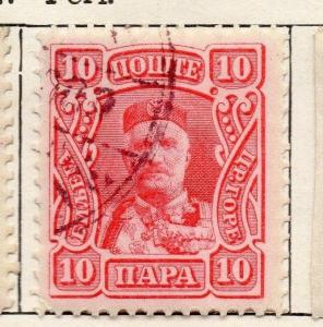 Montenegro 1907 Early Issue Fine Used 10p. 128216