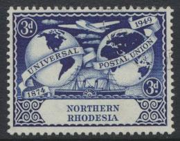 Northern Rhodesia  SG 51 SC# 51 Used see detail and scan