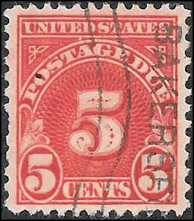 1930 US SC # J83 USED NH ng  - CV $.25 - NICE STAMP