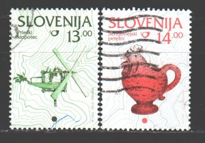 Slovenia. 1997. 204-5. Crafts Crafts. USED.
