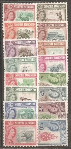 North Borneo  SC  280-95  Mint Never Hinged