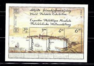 Faroe Is 148 MNH 1986 souvenir sheet