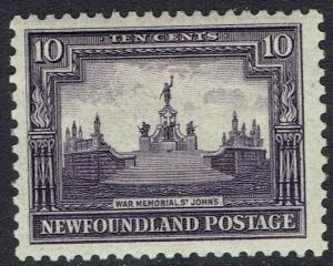 NEWFOUNDLAND 1928 PUBLICITY ISSUE 10C PERF 13.5 X 13