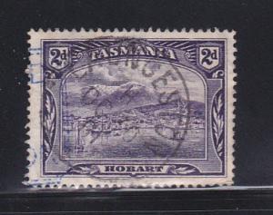 Tasmania 88 U View Of Hobart (A)