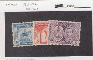 J25795  jlstamps 1849 iraq set mnh #130-2 upu