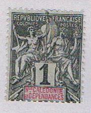 New Caledonia 40 MLH Nav and commerce 1892 (BP29427)
