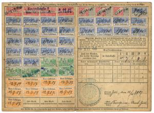 (I.B) France Revenue : Alsace-Lorraine Health & Pensions (complete card)
