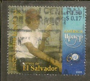 Salvador   Scott 1634  Fight Against Poverty    Used