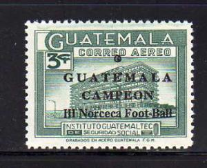 Guatemala C360 Set MNH Social Security Institute, Soccer (F)