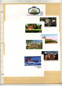 Seven Modern Post Cards