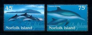 [90946] Norfolk Island 1997 Marine Life Dolphins  MNH