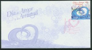 MEXICO 2773, Cacheted FDC St. Valentine's Day.