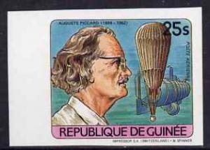 Guinea - Conakry 1984 Auguste Piccard (Ocean Explorer) im...