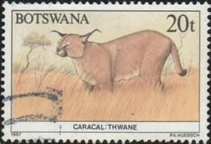 Botswana, #414 Used From 1987
