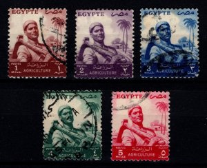 Egypt 1954 Agriculture Set [Used]