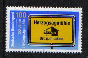 Germany 1994 MNH Domestic missions welfare village society