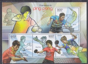 2012 Central African Republic 3762-65KL Tennis 16,00 €