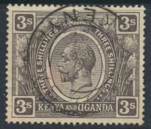 Kenya & Uganda SG 90 SC# 32  -  Used  nicely centered     see details