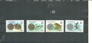 Ascension MNH 355-8 New Coinage & Fauna