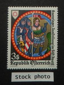 Austria 1177. 1981 Kuenringer Exhibition, NH