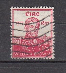 J26214 jlstamps 1957  ireland hv of set used #162 brown