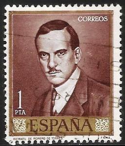 Spain 1965 Scott# 1300 Used