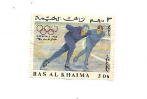 Ras Al Khaimah 1967 - M - Olympic Stamps *