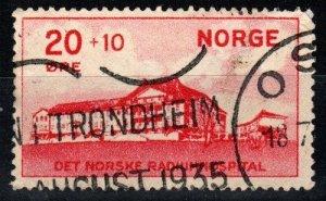 Norway #B4 F-VF Used CV $10.00 (X1426)