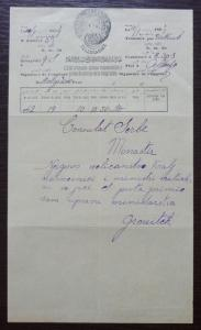 Turkey 1889 Ottoman Empire - Telegramm - Macedonia Serbia RRR!!! yugoslavia J1