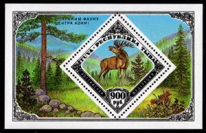 Russia - Tuva Cinderella Souvenir Sheet (Elk)