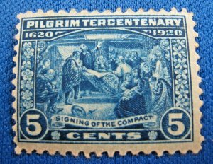 UNITED STATES,  1920   SCOTT #550      MLH       (U17)