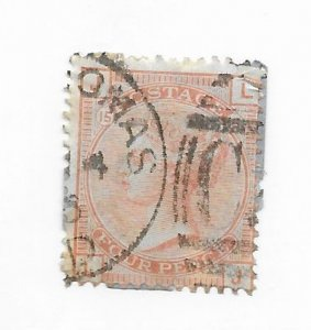 Great Britain #69 F-VF Used Hinge Remnants - Stamp - CAT VALUE $500.00