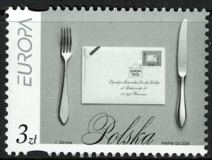 Poland #3893 MNH - Europa (2008)