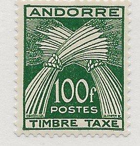 Andorra J41 MNH