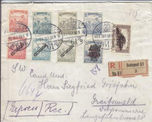 1920, Budapest, Hungary to Greifswald, Germany, See Remark (24279)