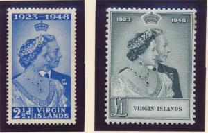 Virgin Islands Stamps Scott #90 To 91, Mint Hinged - Free U.S. Shipping, Free...