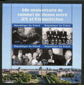 Madagascar 2021 60th Ann of JFK/Krushchev Summit sheet mint never hinged