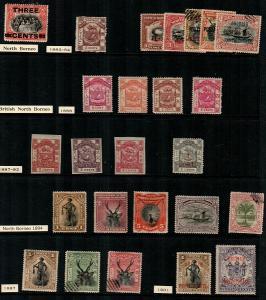 North Borneo - small collection [TC1022] - read description CV $160.00