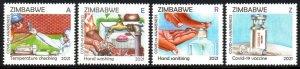 Zimbabwe - 2021 COVID-19 Awareness Set MNH**