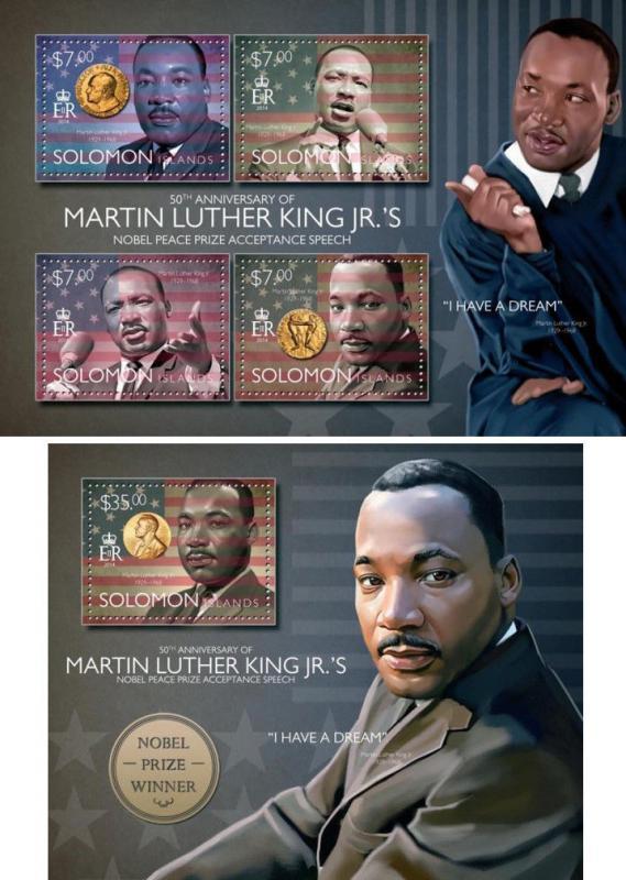 Martin Luther King Jr Nobel Peace Prize Politics Solomon Islands Mnh