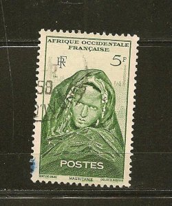 French West Africa 49 Used