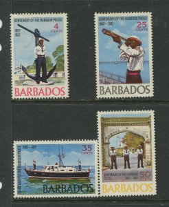 STAMP STATION PERTH Barbados #294-297 General Issue MNH CV$2.00