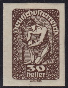 Austria - 1920 - Scott #233 - mint - Allegory of New Republic
