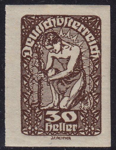 Austria - 1920 - Scott #233 - mint - Allegory of New Republic
