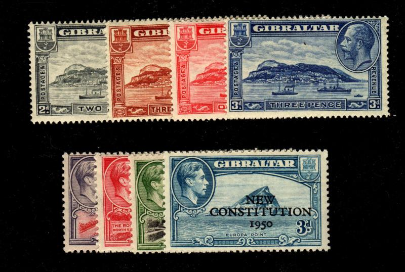 Two MNH Sets Gibraltar