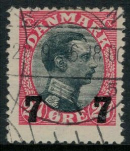 Denmark #182 CV $15.00 postage stamp