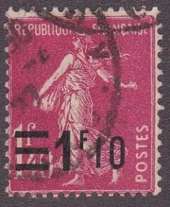 France # 240, Sower, Revalued, Used