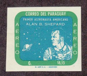 Paraguay 614 MNH Imperf, Note